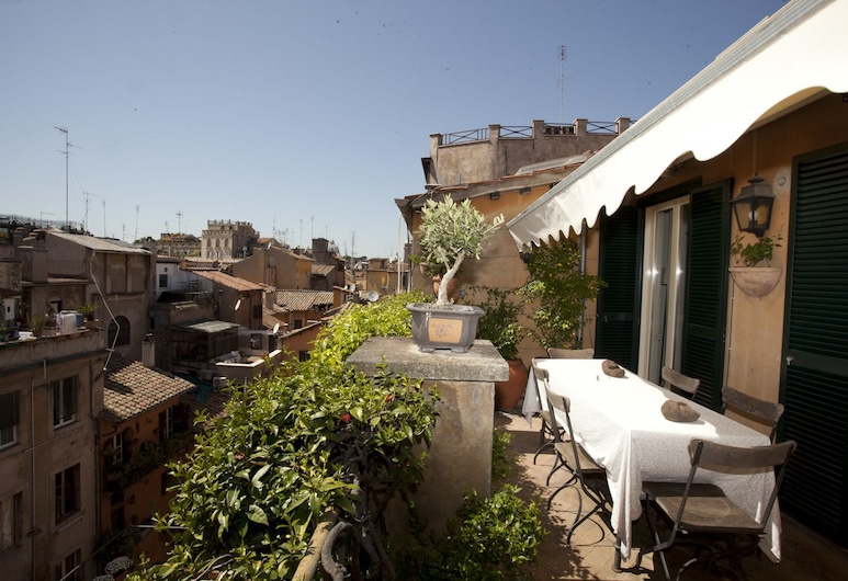 Wonder Princely Penthouse, Róma, apartman, 2 hálószobával, Terasz/udvar