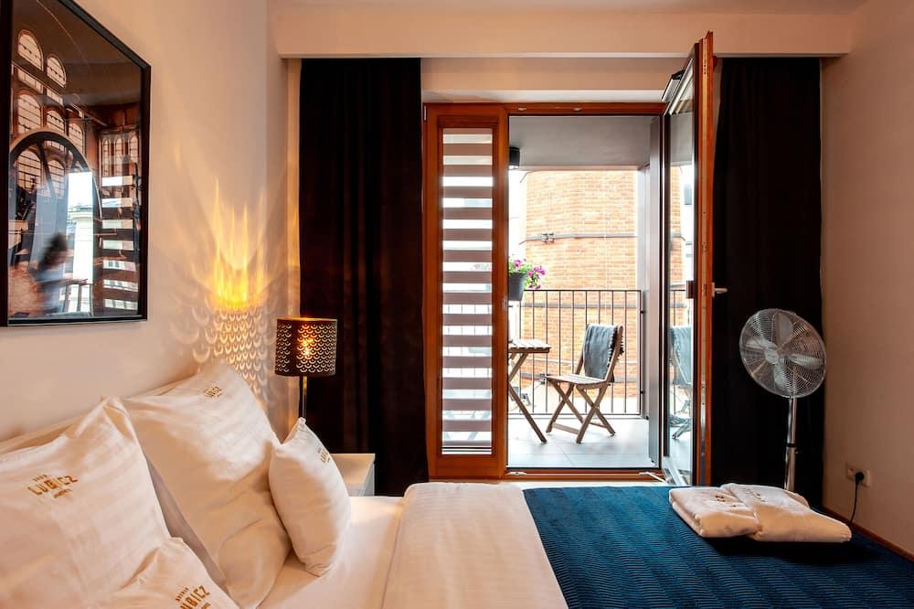 Улучшенные апартаменты, 2 спальни, балкон - Номер