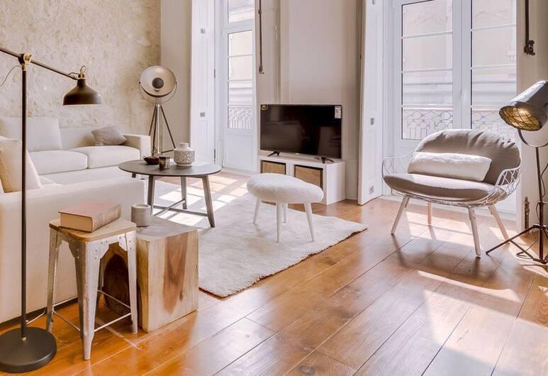 Boavista by Lisbon Inside Out, Lisbon, Apartment, 2 Bedrooms, Ruang Tamu