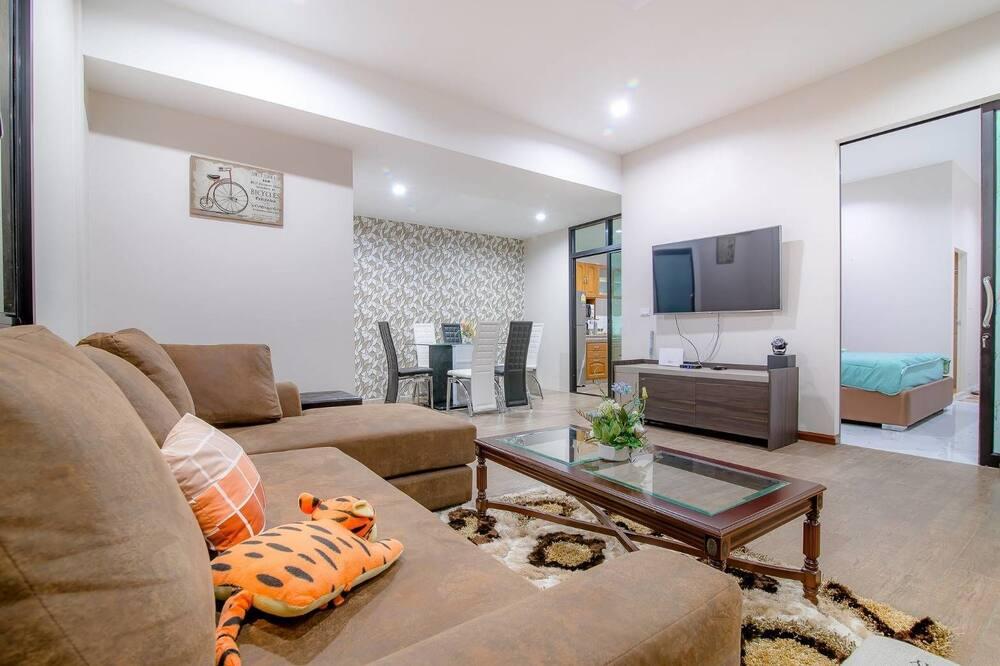Three Bedrooms - Private Pool Villa  - Essbereich im Zimmer