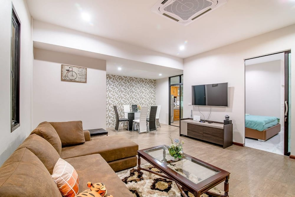 Three Bedrooms - Private Pool Villa  - Wohnbereich