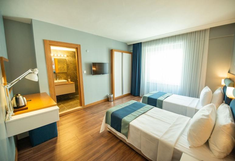 Big Point Hotel, Biga, Standartinio tipo dvivietis kambarys (2 viengulės lovos), Vaizdas iš svečių kambario
