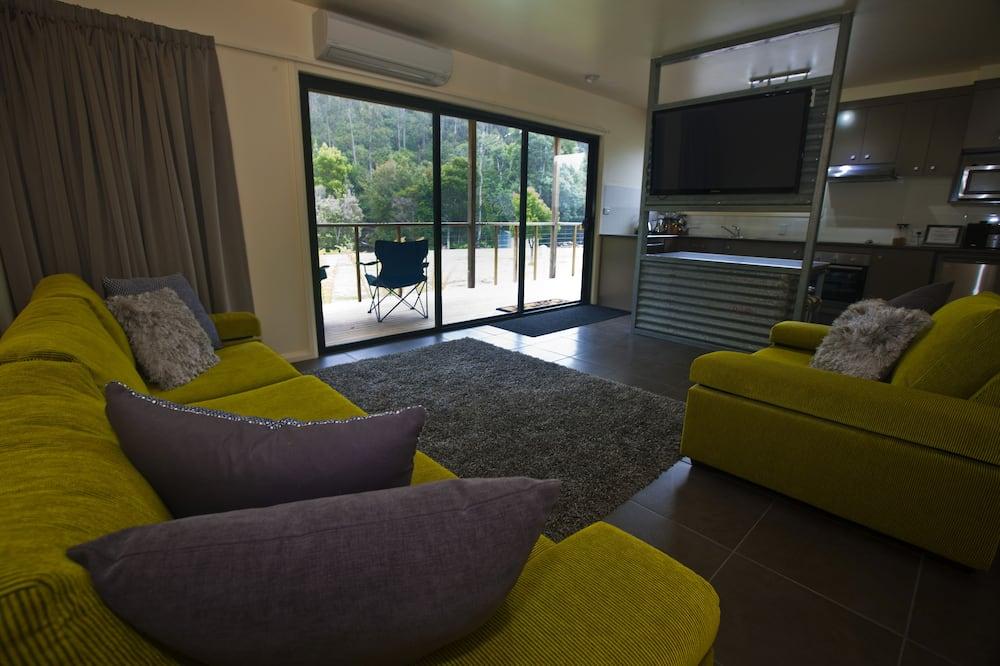 平房, 1 間臥室, 無障礙, 河景 - 客廳