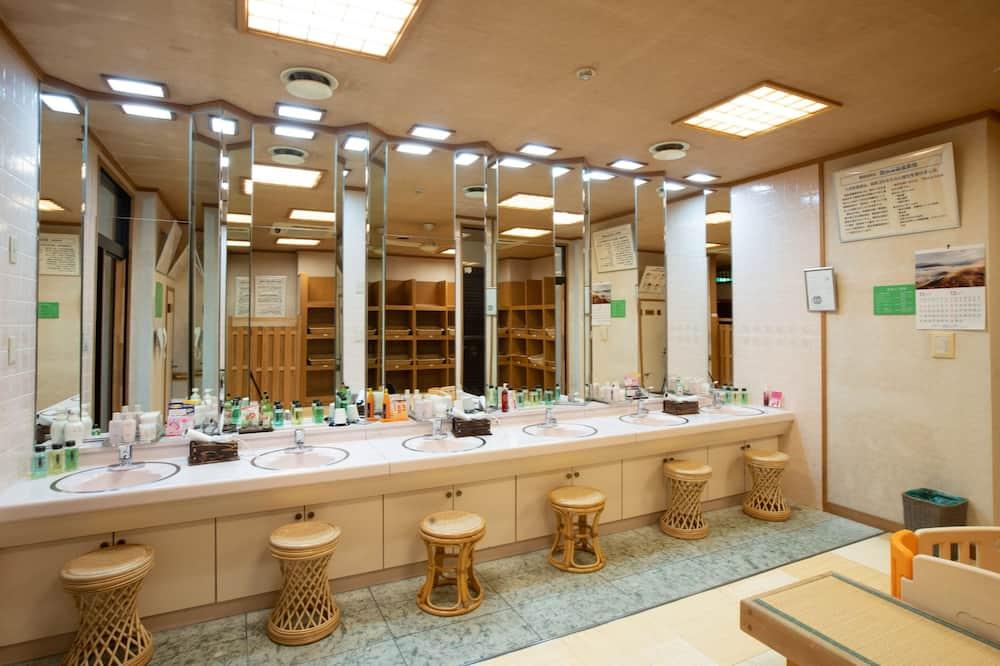 Традиційний номер, для некурців (JP Style, Shared Bathroom) - Ванна кімната
