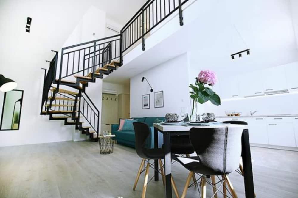 行政頂層客房, 多張床 - 客廳