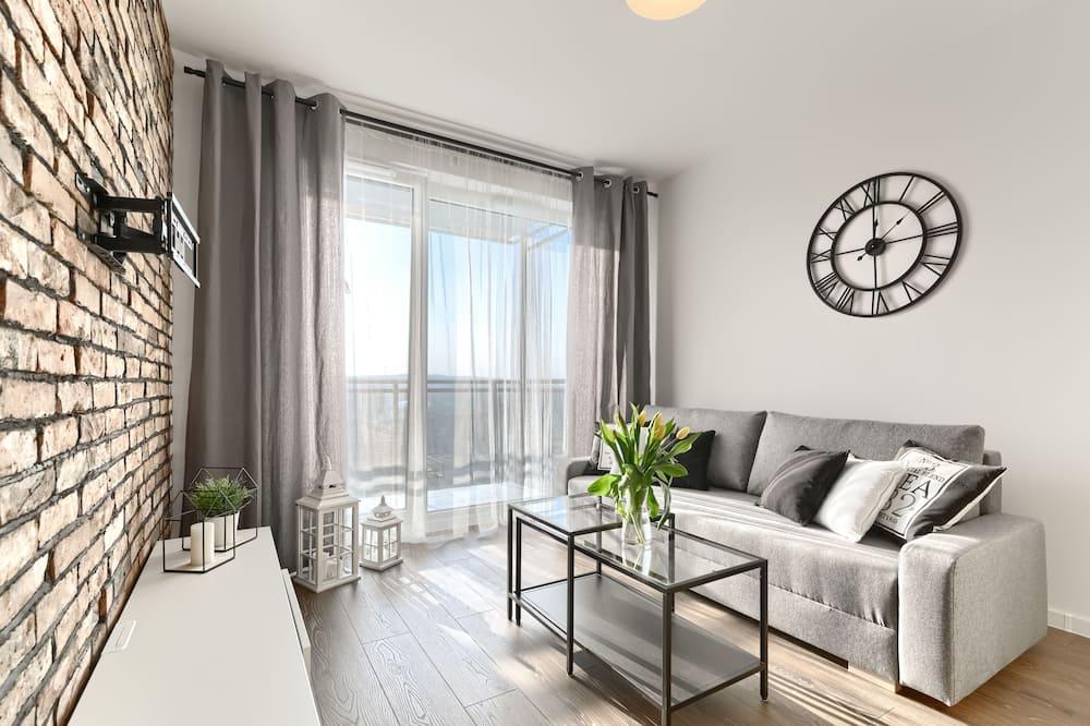 Komforta dzīvokļnumurs - Dzīvojamā istaba