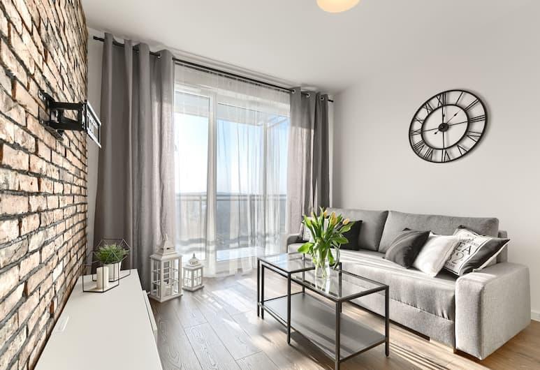 Dream Holiday - Apartament Bastion Wałowa, Gdansk, Leilighet – comfort, Stue