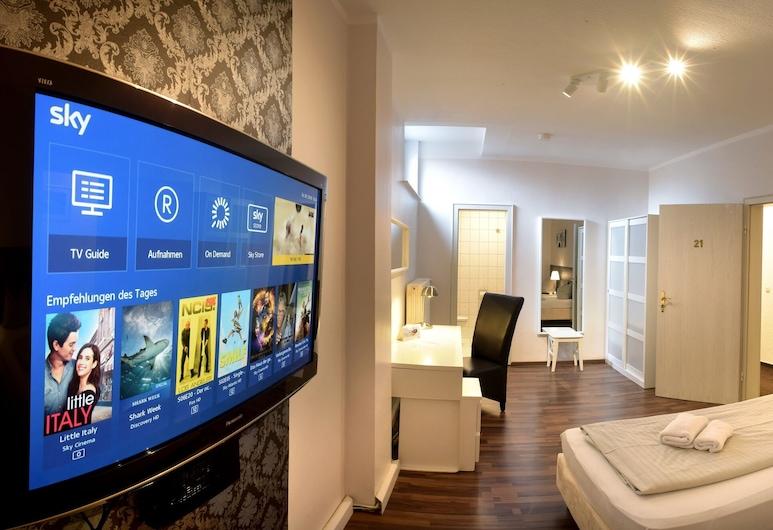 Hotel Bürgerhof , Colonia, Habitación urbana con 1 cama doble o 2 individuales, Sala de estar