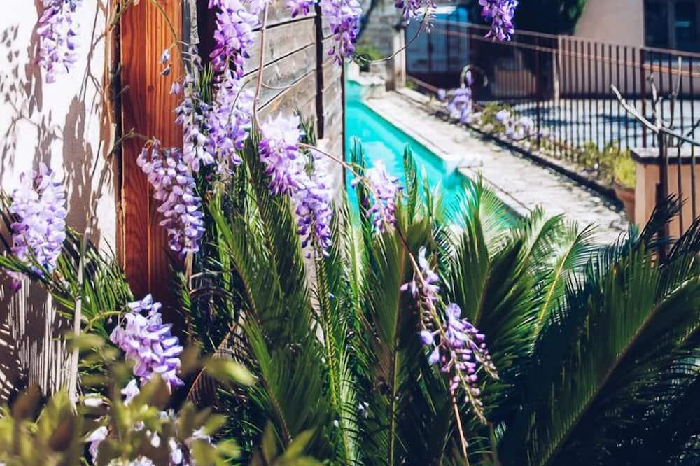 Suite (Le Poustalou) - Vistas al jardín