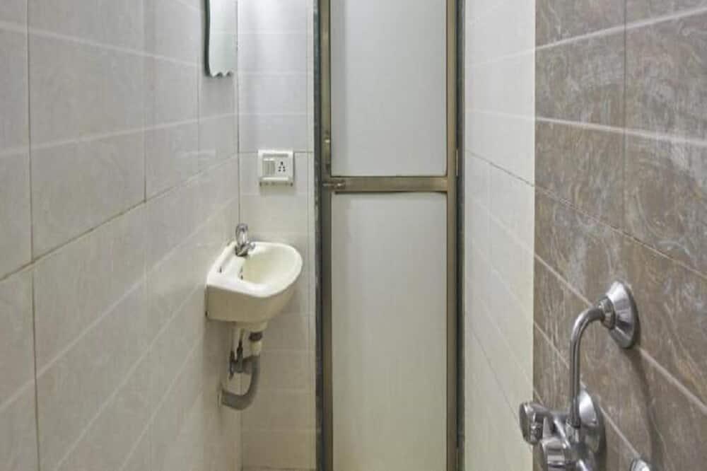 Deluxe eenpersoonskamer, Balkon - Badkamer