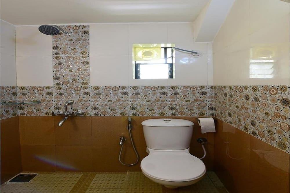 Deluxe-Doppelzimmer, 1 Doppelbett, Nichtraucher - Badezimmer