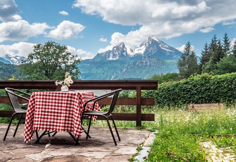 GAESTEHAUS BERGWALD, Berchtesgaden, Terraza o patio