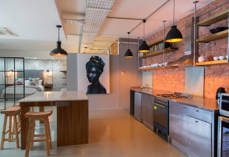 Buitenkloof Studio, Le Cap, Studio, 1 chambre, Cuisine privée