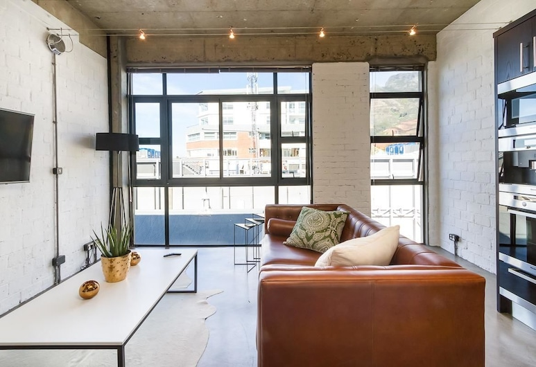 Temple House, Cape Town, Apartment, 2 Bedrooms, Living Area