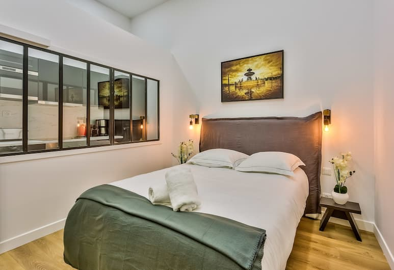05 - Designed Parisian Flat, Παρίσι, Διαμέρισμα, 1 Υπνοδωμάτιο, Δωμάτιο