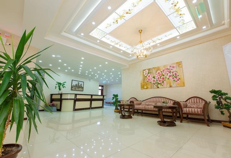 Navruz Hotel, Tashkent, Interior Entrance