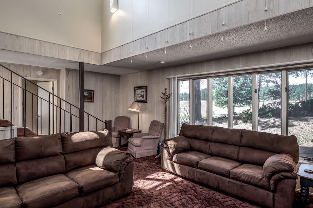 Domek wypoczynkowy, 3 sypialnie, jacuzzi, Widok - Powierzchnia mieszkalna