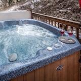 Cabin, 4 Bedrooms, Hot Tub, View - Tab Spa Terbuka