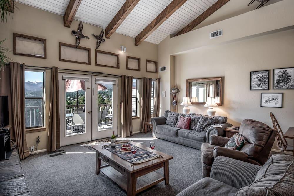 聯排別墅, 4 間臥室, 壁爐, 景觀 - 客廳
