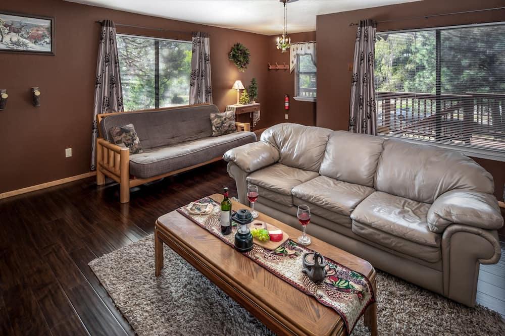 小屋, 2 間臥室, 廚房, 景觀 - 客廳