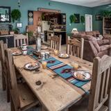 Casa adosada, 3 habitaciones, cocina, con vistas - Comida en la habitación