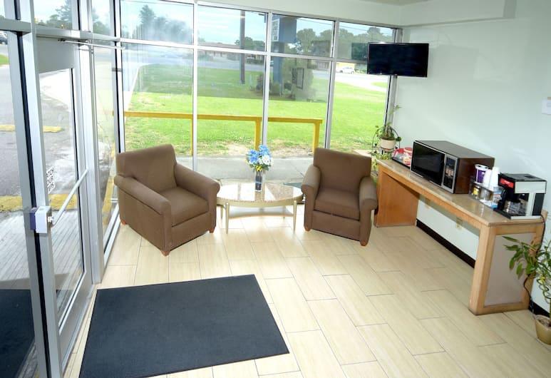 The Shades Motel, Baton Rouge, Lobby Sitting Area