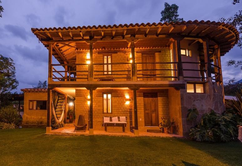 Hostal Casa del Arte, Villa de Leyva, Hotel Front – Evening/Night