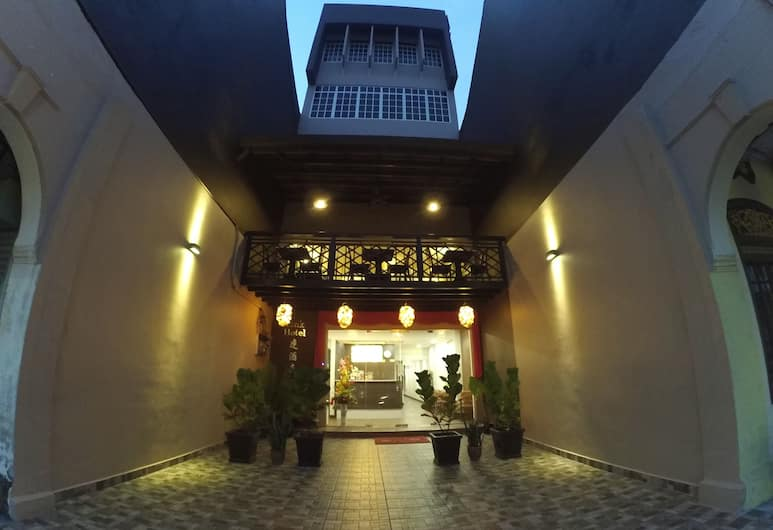 Link Hotel, George Town, Pročelje hotela – navečer/po noći