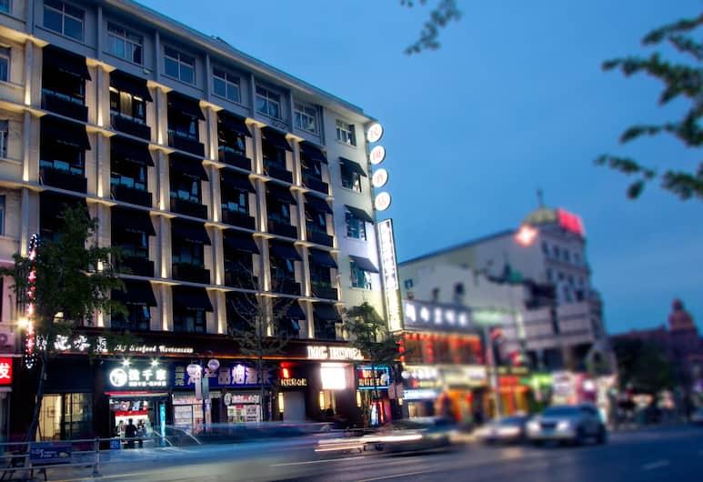 MG 호텔, 칭다오, 호텔 입구