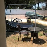 Habitación triple Deluxe, 1 habitación, no fumadores, vistas al jardín - Vistas al jardín