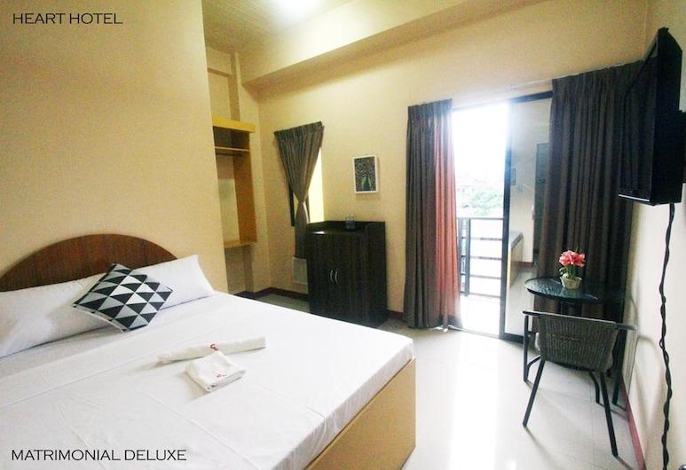Heart Hotel and Services, Dumaguete, Izba typu Deluxe (Matrimonial), Hosťovská izba