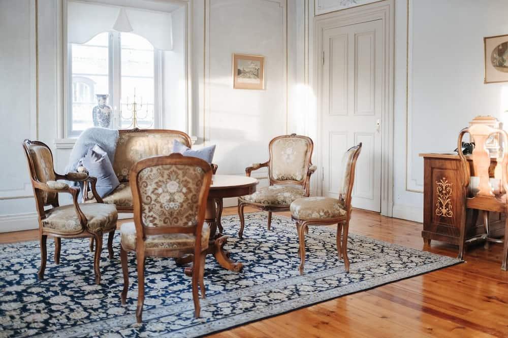 Doppelzimmer (Björkrummet) - Wohnbereich