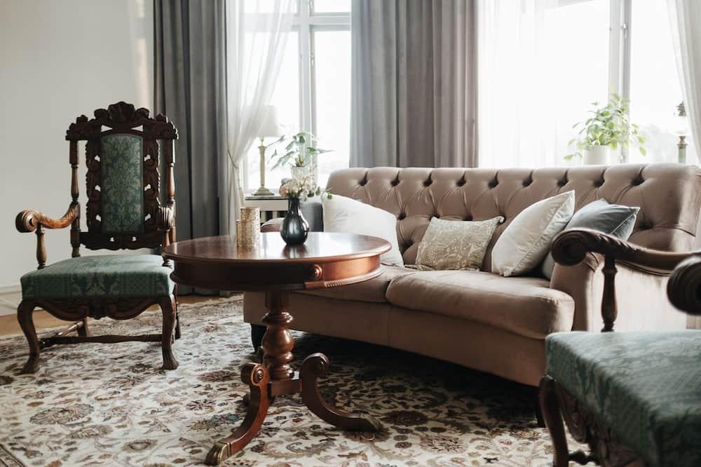 Suite (Herrgårdssviten) - Wohnbereich