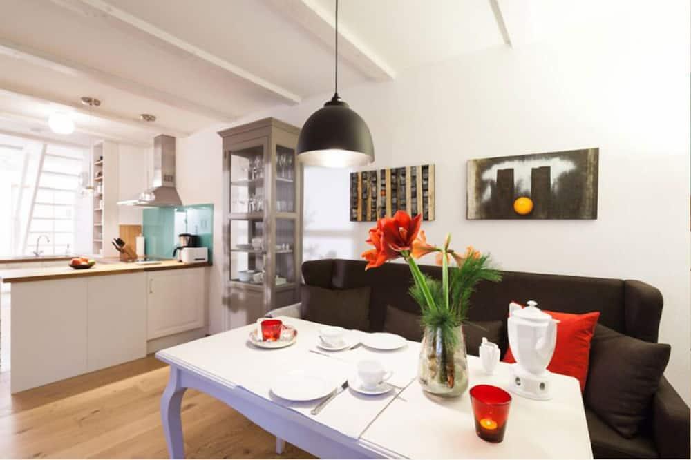 Apart Daire, 2 Yatak Odası (incl. 48€ cleaning fee) - Odada Yemek Servisi