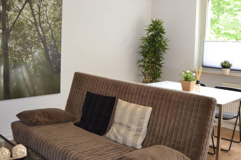 Апартаменты «Комфорт», 2 спальни, для некурящих - Зона гостиной