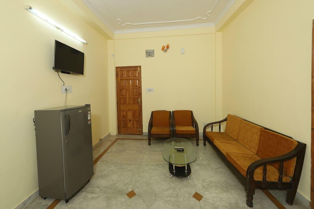 Kamer, 1 twee- of 2 eenpersoonsbedden - Woonruimte