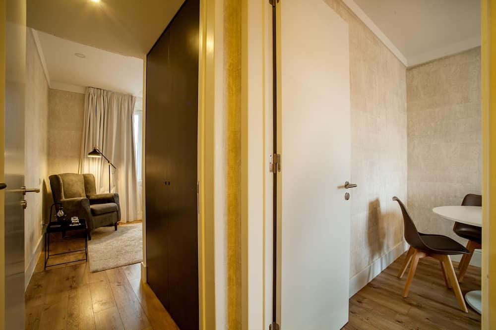 Rodinný apartmán, terasa - Obývacie priestory