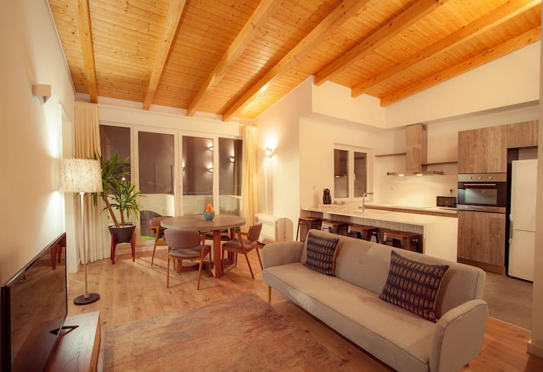 Smart Suites & Apartments by apt in lisbon- Lisbon Center , Λισσαβώνα, Ρετιρέ, Βεράντα, Θέα στο Ποτάμι, Περιοχή καθιστικού