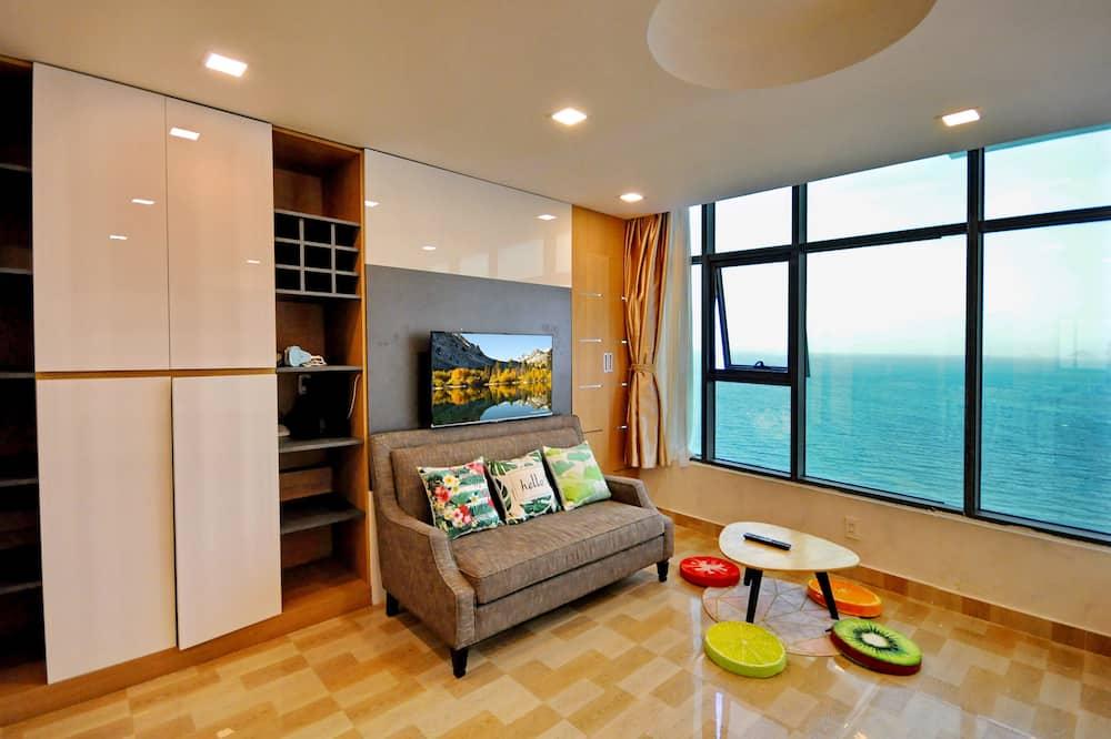 Studio, Sea View - Living Area