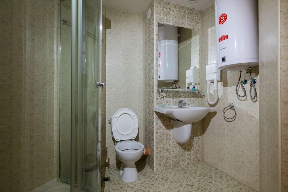 Appartement Familial, 1 lit double, balcon, vue piscine - Salle de bain
