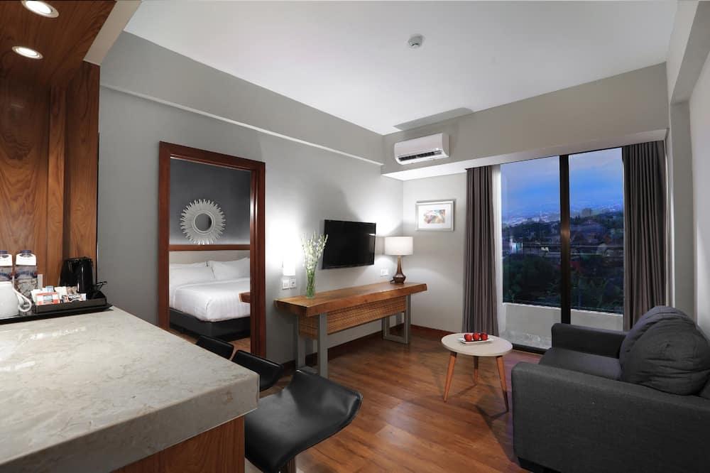 Suite, 1 cama de matrimonio - Zona de estar