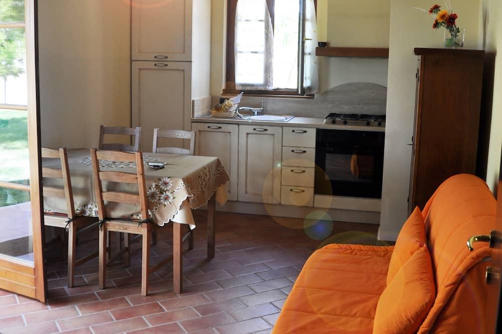 Apartamento, 1 habitación, planta baja - Sala de estar