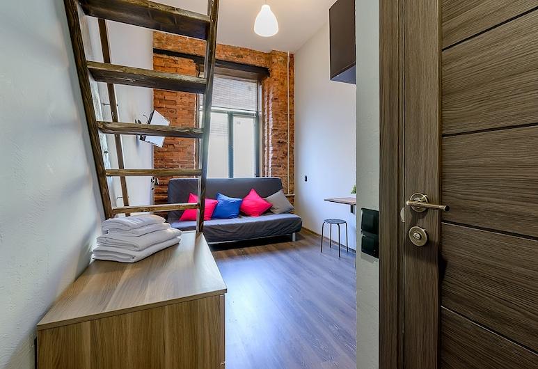 Апартаменты Piter PalaceInter, Санкт-Петербург, Базовый двухместный номер с 1 или 2 кроватями, 1 спальня, Номер