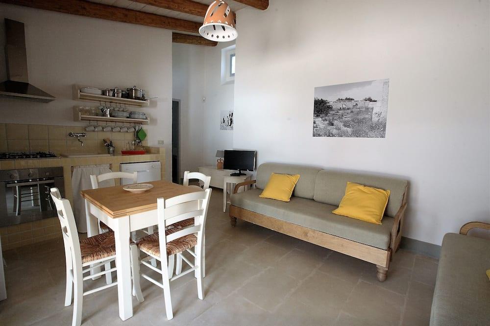 独立别墅, 1 间卧室 (Casa Archi di Mezzo) - 起居区