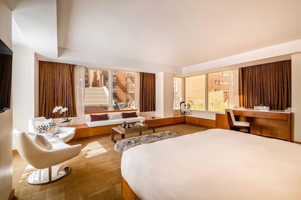 Apartmá s ložnicí a obývacím koutem, bezbariérový přístup - Obývací prostor