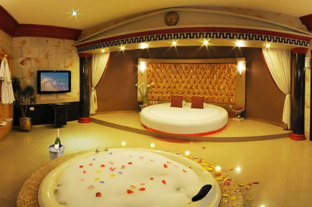 Liukso klasės numeris, sūkurinė vonia (Sauna) - Vonios kambarys