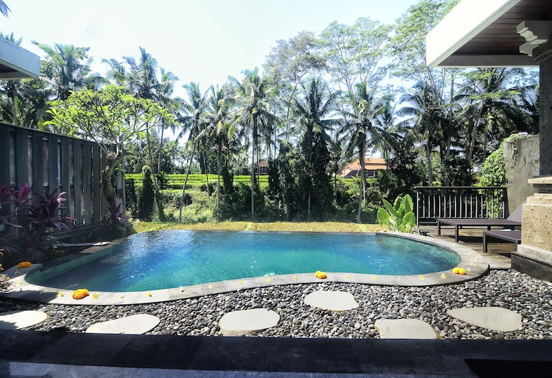 Villa Kirani Ubud, Ubud, Villa – luxury, privat basseng, Terrasse/veranda