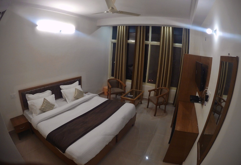HOTEL GRACE GANGA-By Nature Care Village, Rishikesh, Deluxe Queen Room, Guest Room