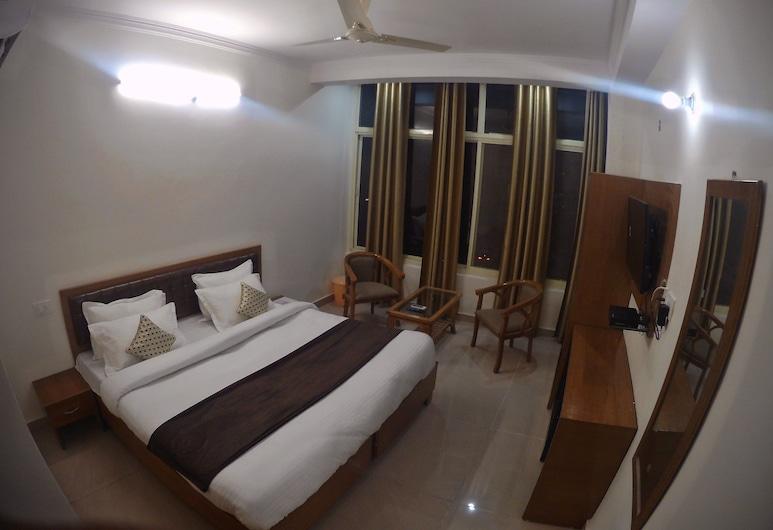 HOTEL GRACE GANGA-By Nature Care Village, Rishikesh, ห้องดีลักซ์, เตียงควีนไซส์ 1 เตียง, ห้องพัก