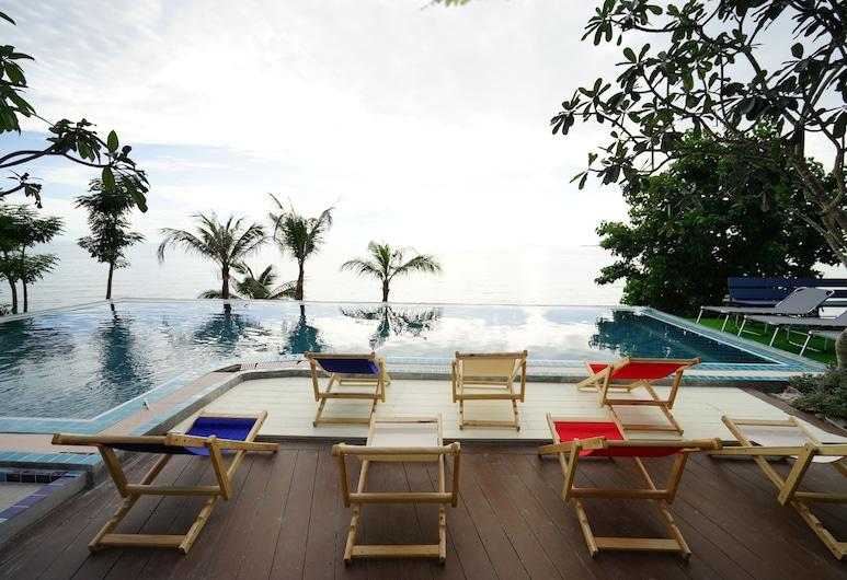 Pattaya Paradise Beach Resort, Pattaya, Utendørsbasseng